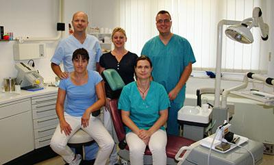 Zahnarztpraxis Schenk - Das Team